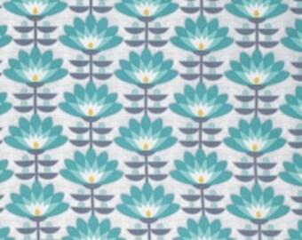 Deco Bloom in Mint - Atrium - Joel Dewberry - 1 YARD Fabric