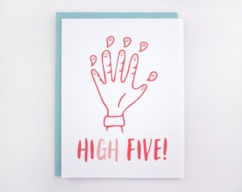 High Five Card - Hi Card