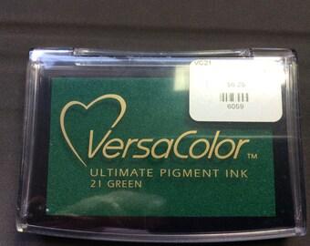 VersaColor  Ultimate Pigment Ink  Green #21