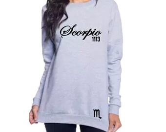 Scorpio Women's Birthday Sweatshirt