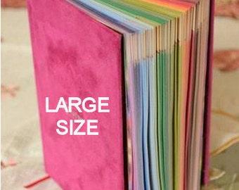 Rainbow Quran - Ramadan Gift - Multiple Cover Color Choices   Koran   Prayer Book   LARGE SIZE
