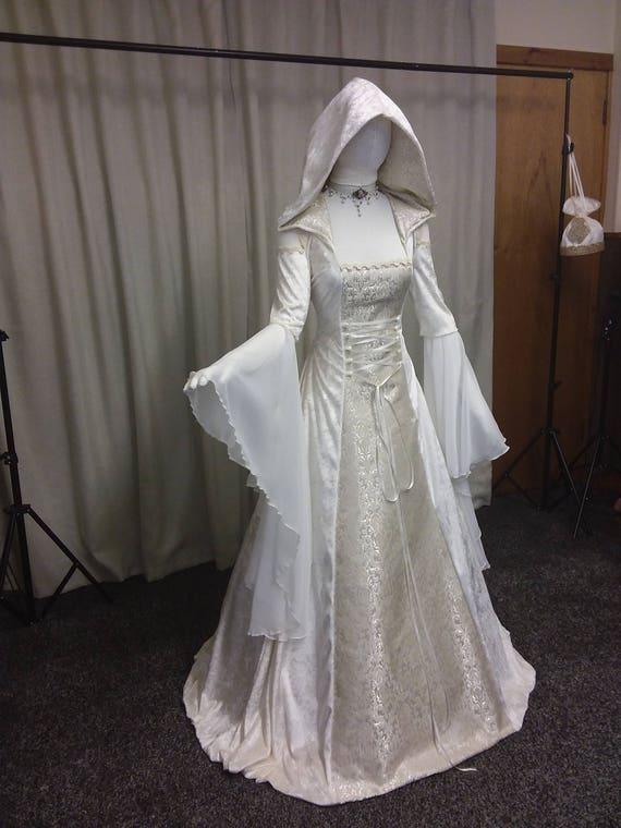 Renaissance dress Celtic wedding dress medieval wedding
