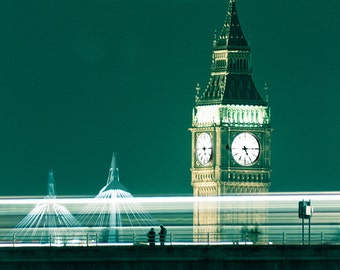 London Photography, Big Ben photography - A London Winter, 8x10