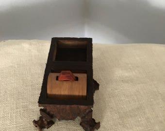 Wood Rings in Box