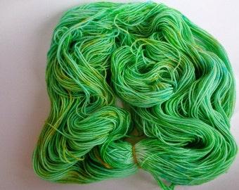 Hand Painted Yarn, Octopus's Garden - SW Merino/Nylon Fingering Wt.