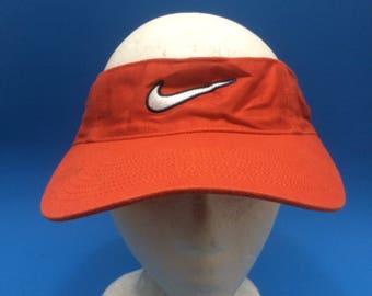 Vintage Nike Visor Adjustable Strapback Hat Adjustable