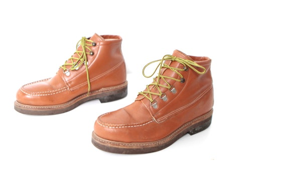 boots men's style hip 8 hop WORK leather size VINTAGE timberland 90s 80s rustic HIKING xUzwaad