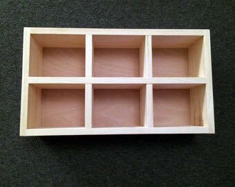 Six Compartment Emma Bridgewater Pigeon Hole Mug Shelf, 6 Hole Cubby Shelf, Pigeon Hole Unit