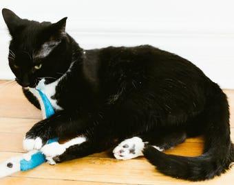 Sardine catnip cat toy