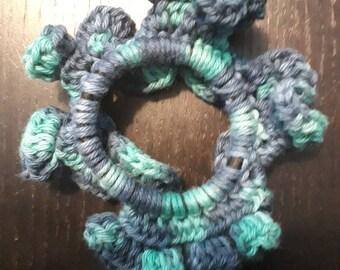 Scrunchie mermaid style