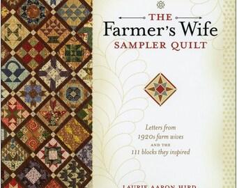 Sampler Quilt -The Farmer's Wife - 1920's Quilt Blocks - Dunbarton Press, By Laurie Arron Hird - DIY Project Book w/CD