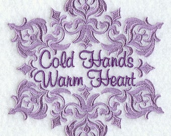 COLD Hands WARM Heart- Machine Embroidery Quilt Blocks (AzEB)