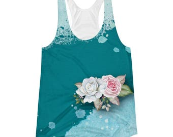 Coming Up Roses - Women's Racerback Tank