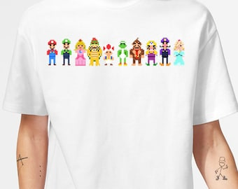 Mario 8-Bit Tee