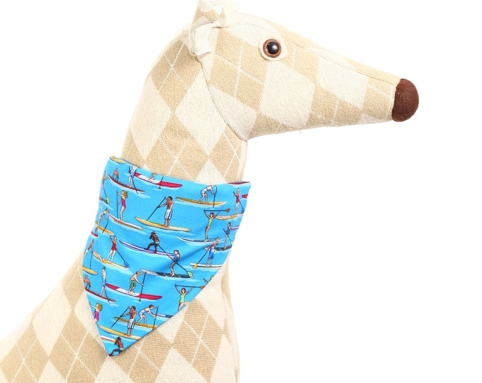 Pet Bandana - Stand Up Paddleboards - Pet Scarf - Collar Cover - SUP