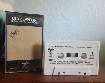 Led Zeppelin (Cassette) - In Through The Out Door