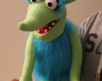 Custom Made Professional Monster Puppet - ANY COLOUR!