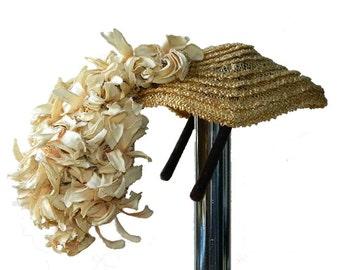 Vintage 1950's Cesare Canessa Designer Hat