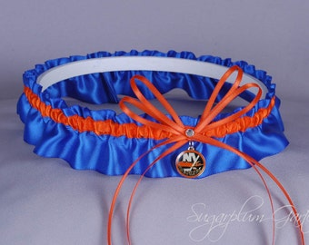 New York Islanders Wedding Garter