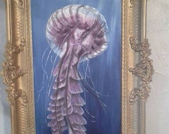 Underwater  jellyfish
