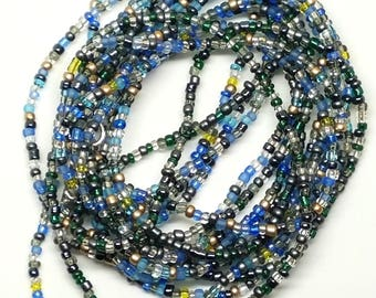 AFUA - African Inspired Triple Stranded Waist Beads
