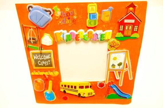 School Years Frame Preschool Kindergarten ABC Frames