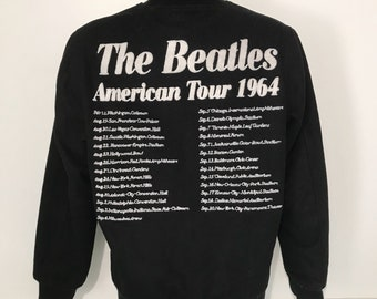 Vintage Beatles American Tour 1964 Wool Jacket M/L
