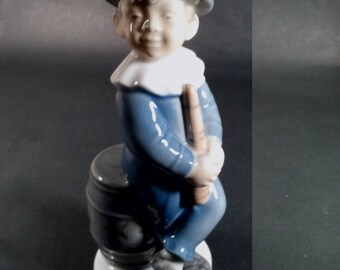 Royal Copenhagen Boy Juggler #4524in Pristine Condition