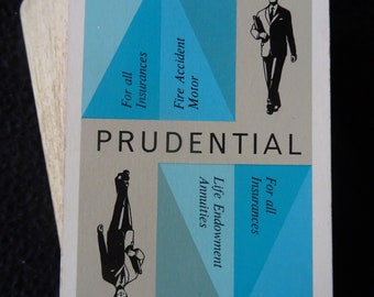 Vintage 1960's Pack of Advertising Playing Cards -  Prudential Insurnace