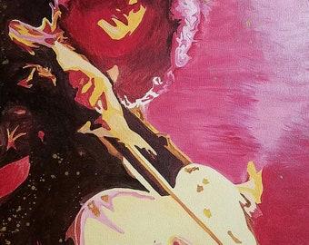Led Zeppelin/Jimmy Page Rock n Roll Scarf