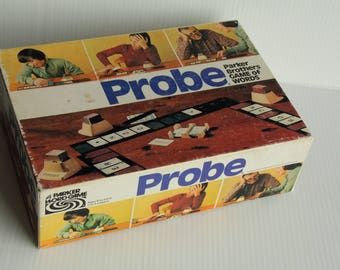 Probe Parker Bros Game of Words-> 1974