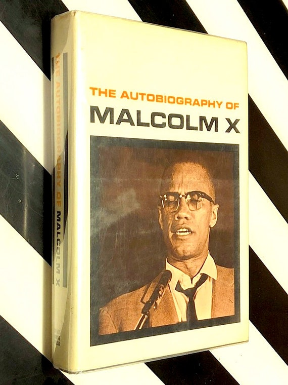 The Autobiography of Malcolm X (1965) hardcover book
