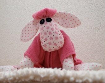 Handmade  stuffed toy , a child's best friend, soft , baby shower gift.
