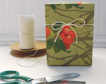 Japanese Quince Gift Wrapping Paper - for Gardeners