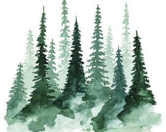 Woodland Trees No. 1