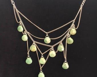 Jade Asymmetrical necklace