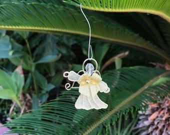 Golden Angel Ornament