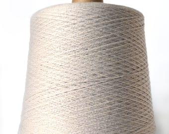 50/50 Wool/Silk Yarn Cone JaggerSpun Zephyr- Lace/Worsted Weight