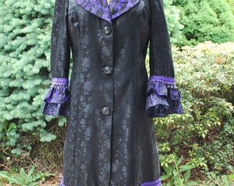 Fantasy Coat purple