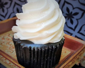 Sugar Witch Cupcake Soap - Bewitching Cupcake Soap - Goth Bath