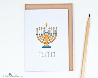 adult hanukkah card joke hanukkah menorah card hanukkiah hannukah funny card - Funny Hanukkah Cards
