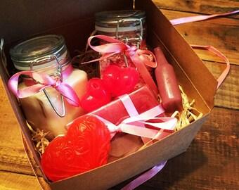 Valentine pamper box