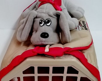 Toys- Pound Puppies Newborn Plush and Carrier