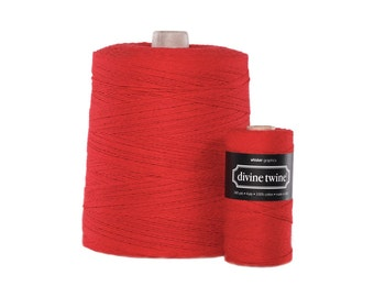 NEW** Solid Red Divine Twine X