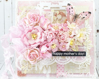 Shabby Chic Happy Mother's Day Greeting Card