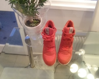 Red sneakers suede ASH size 39