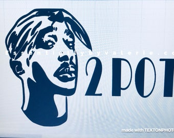 Instant pot decal/tupac