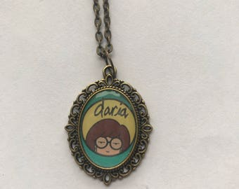 Daria or Jane Lane Cameo Necklace, Choose From 3 Designs