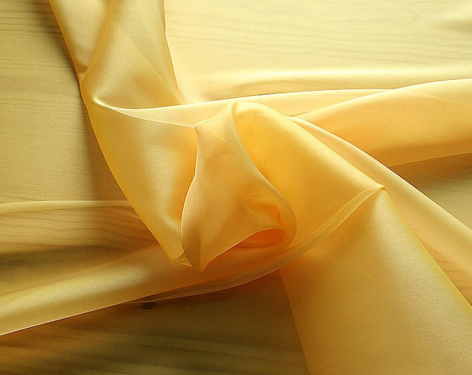 232062-Organdy natural Silk Cangiante 100%, litmus, width 135/140 cm, made in Italy, dry cleaning, weight 55 gr