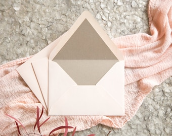 """A7 Envelope Liners - fits envelopes for 5x7"""" cards"""